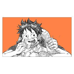 One Piece. Размер: 70 х 40 см